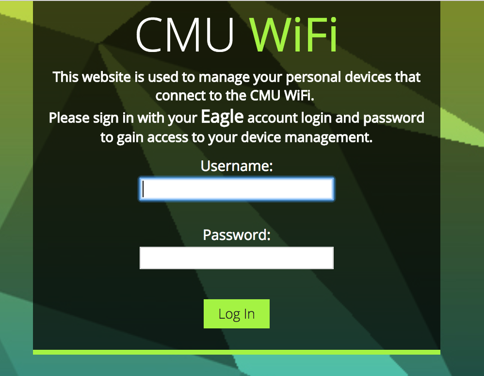 CMU Device Management